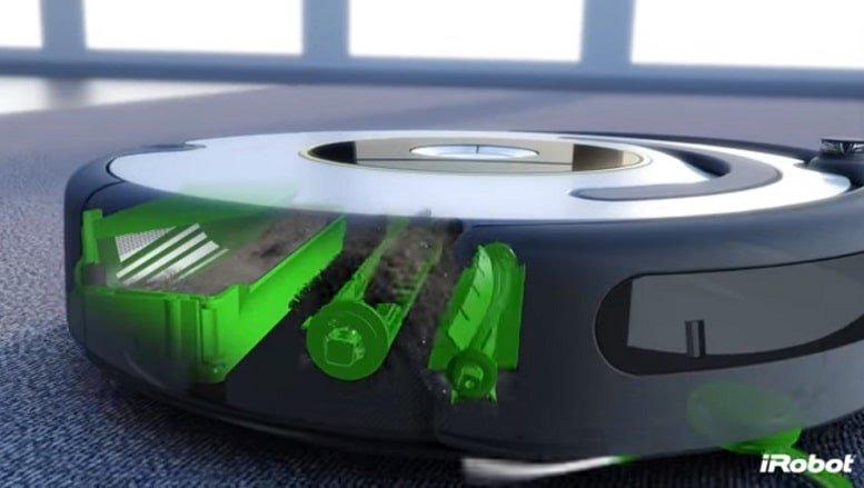 iRobot Roomba Vacuum Cleaner - Brush and Bin