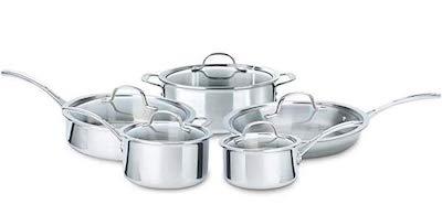 Calphalon 10 Piece Tri-Ply Cookware Set