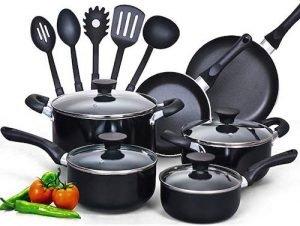 Cook N Home 15-Piece Cookware Set