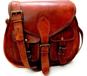 Firu-Handmade Women Vintage Style Leather Bag