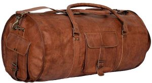 Komal's Passion Leather 24 Inch Duffel Bag