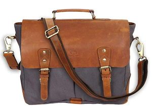 Rustic Town Leather Messenger Bag for Women