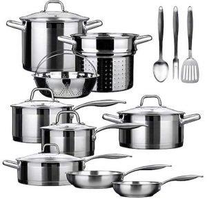 Secura Duxtop SSIB-17 Top Rated Cookware Set