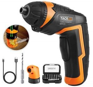 TACKLIFE SDP51DC Cordless Rechargeable Screwdriver