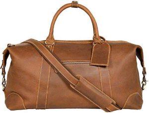 Travel Duffel Bag I Oversized Genuine Leather Bag