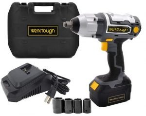 Werktough 0.5 Inch Cordless Impact Wrench