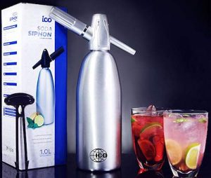 Professional Soda Siphon and Seltzer Water Maker