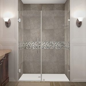 Aston Nautis GS Completely Frameless Hinged Shower Door Review