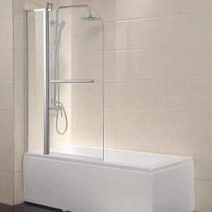 Mecor Shower Door Hinged Frameless