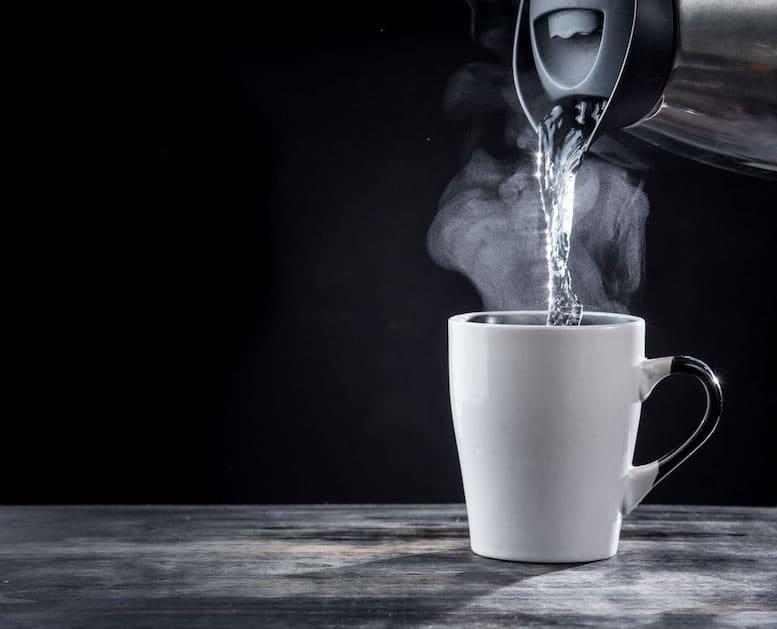 Drinking Water Warm