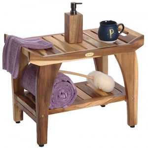 EcoDecors Tranquility Shower Bench