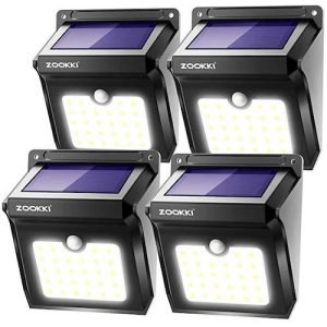 ZOOKKI Outdoor Solar Lights