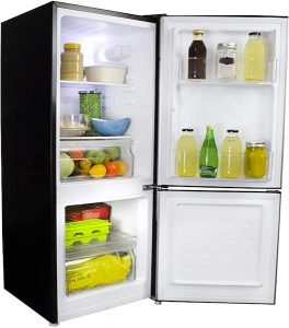 Danby Compact Refrigerator with Bottom-Mount Freezer