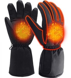 QILOVE Electric Heated Gloves