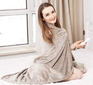 Tefici Electric Heated Throw Blanket