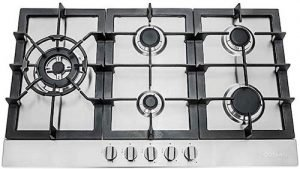 Cosmo 850SLTX-E Gas Cooktop with 5 Burners