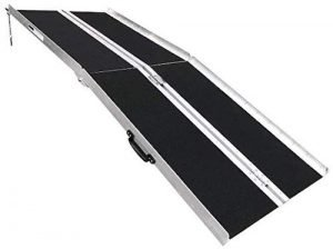 Clevr Aluminum Wheelchair Scooter Loading Ramp