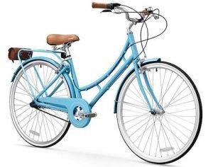 FIRTH SPORTS Nadine SE Women's Aluminum Hybrid City Bike