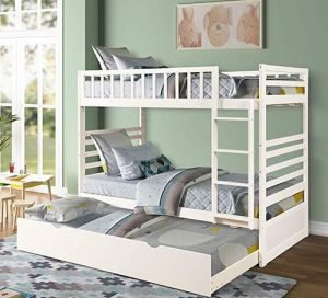 Merax Twin Over Twin Bunk Bed