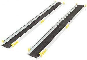 Silver Telescoping Track Ramps