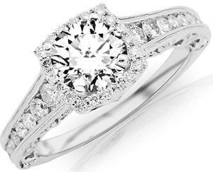 1.75 carat Designer Engagement Ring
