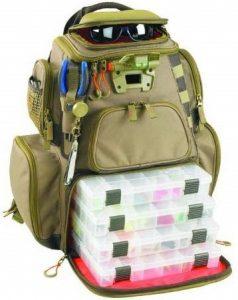 Custom Leathercraft WT3604 Tackle Tek Nomad Lighted Backpack