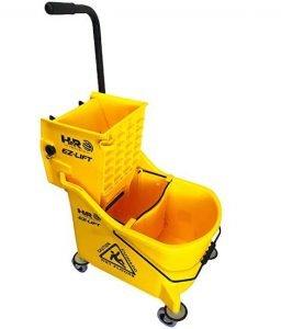 Hero EZ-Lift Dual Cavity Commercial Mop Bucket