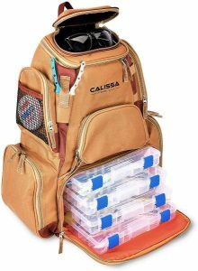 Calissa Offshore Tackle X-Large Fishing BackpackThe X-Large 'Blackstar' Fishing Backpack