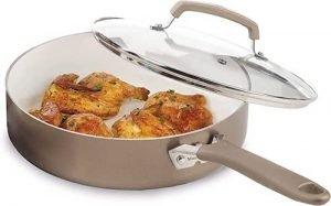 WearEver C94433 Pure Living Nonstick Ceramic Pan