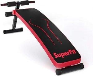Goplus Adjustable Sit Up Bench