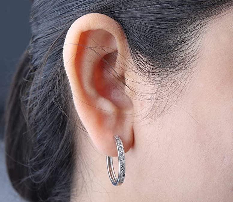 Best Diamond Hoop Earring Reviews
