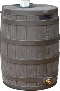 Good Ideas RW50-OAK Rain Wizard Rain Barrel