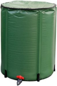 Goplus Portable Rain Barrel Water Collector