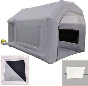 Inflatable Time Spray Booth