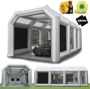LuckyWe Inflatable Spray Paint Booth