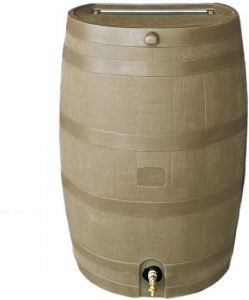 RTS Home Accents Rain Water Collection Barrel