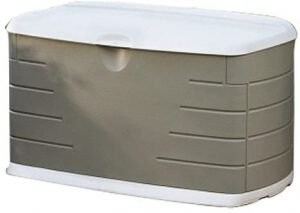 Rubbermaid FG5E3900OLVSS Deck Box