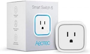 Aeotec Smart Switch 6 Wireless Control Plug for Home Security Automation
