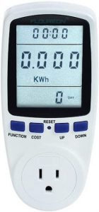 Excelvan TS-836A Plug Power Electricity Usage Monitor