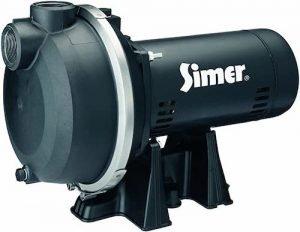 Simer 3415P 1-1.5 HP Spinkler System Pump