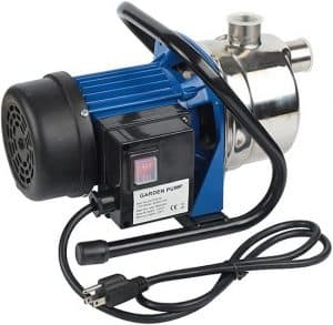 EXTRAUP Electronic Portable Shallow Well Pump Booster Pump
