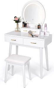 Amzdeal Vanity Dressing Table