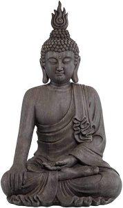 Asian Zen Buddha Outdoor Statue