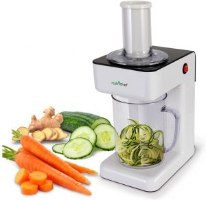 Nutrichef Electric Food Processor and Spiralizer