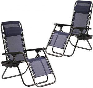 FDW Zero Gravity Camping Chairs