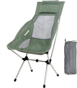 MARCHWAY High Back Camping Chair